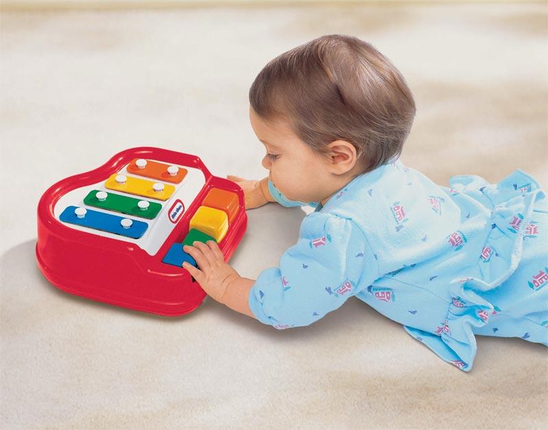 amazon com  little tikes baby tap a tune piano  toys  u0026 games