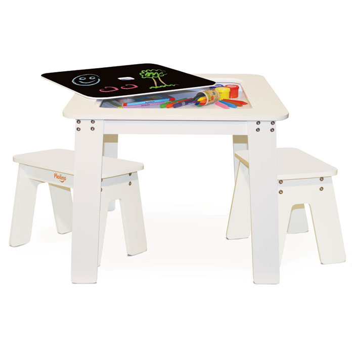 Pu0027kolino Chalk Table And Benches