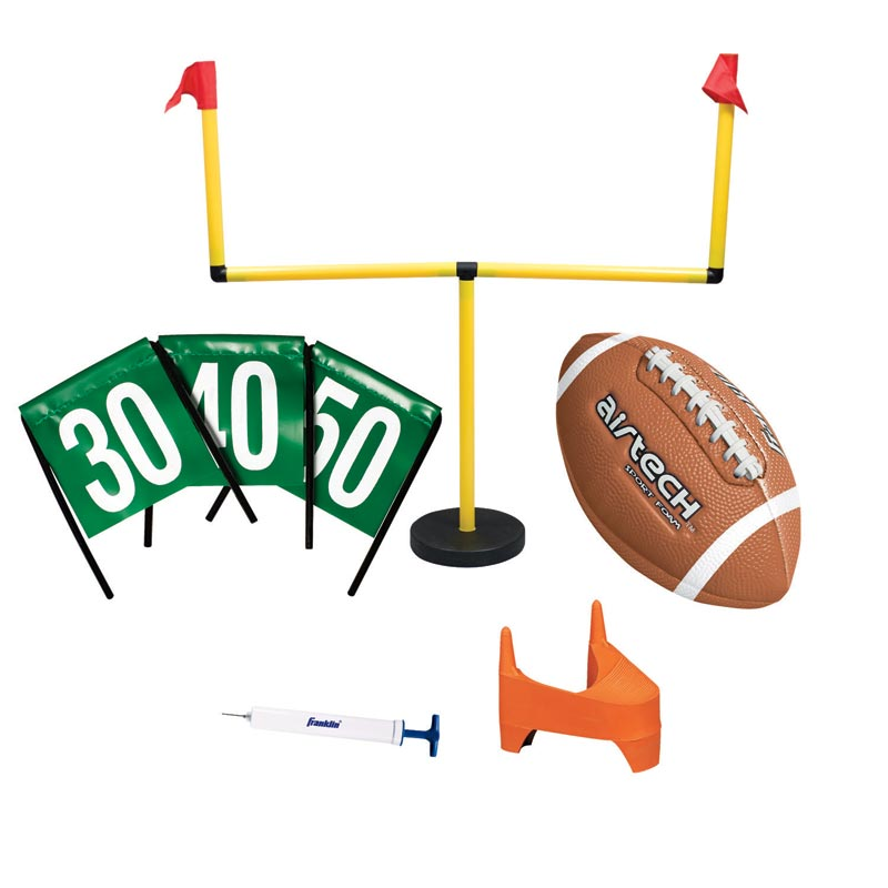 Amazon.com: Franklin Sports Go Pro Youth Football Goal ...