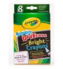 Crayola Bright Erase Crayons