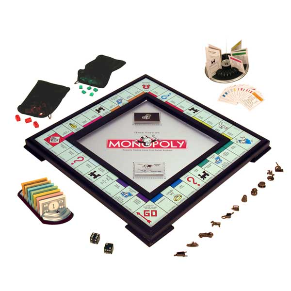 Amazon.com: Monopoly Onyx Edition: Toys & Games