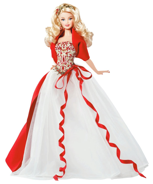 Amazon.com: Barbie Collector 2010 Holiday Doll: Toys & Games