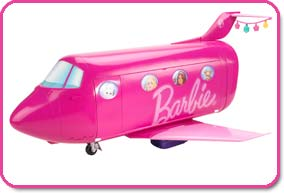 7c587f20fd4 Amazon.com  Barbie Glam Vacation Jet  Toys   Games