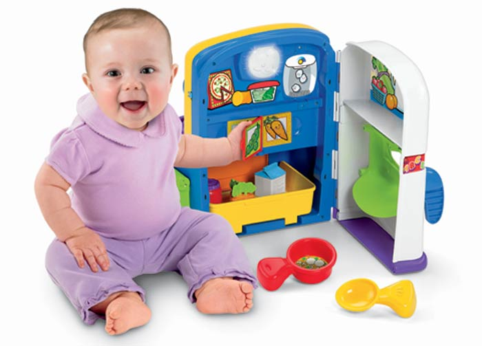 Fisher price laugh learn learning kitchen for Kitchen set toys amazon
