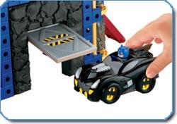 Batman figure and a customizable Batmobile