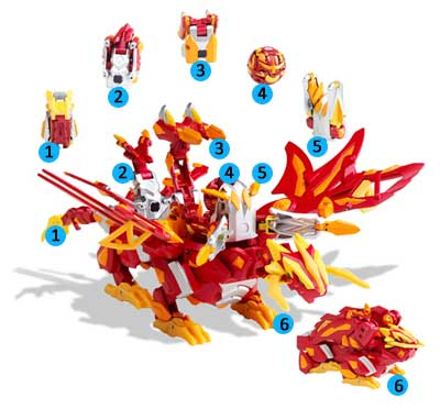 Combine Bakugan Battle
