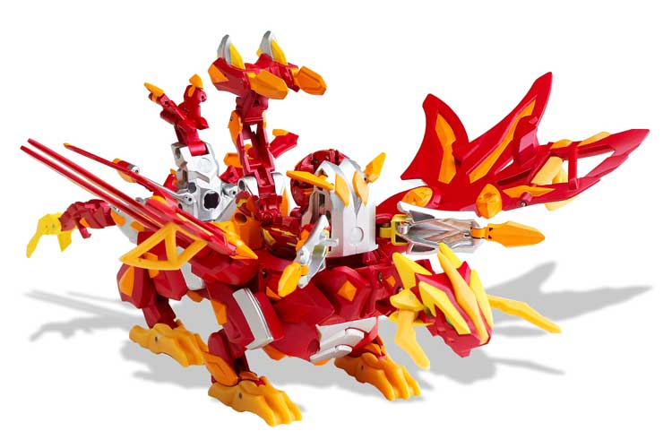 Amazon.com: Bakugan Dragonoid Colossus: Toys & Games