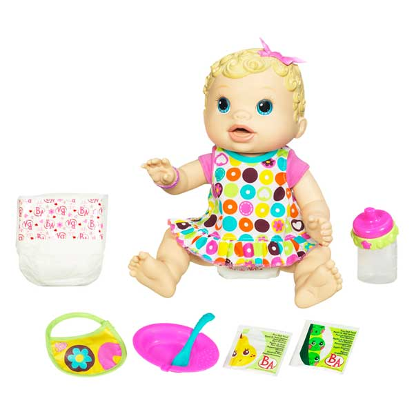 Amazon.com: Baby Alive Changing Time Baby - Blonde: Toys & Games