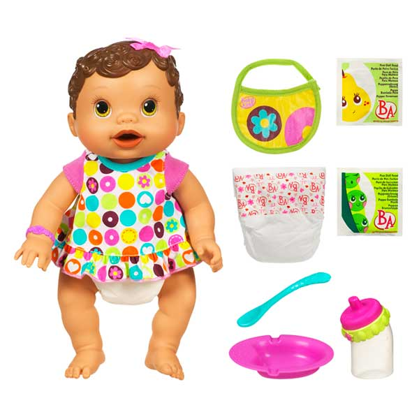 Amazon Com Baby Alive Changing Time Baby Brunette Toys