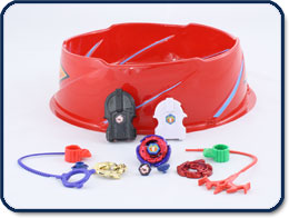 Beyblade Metal Fusion Battle Set
