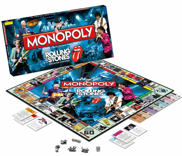 Band Game Toy : Amazon monopoly rolling stones toys games