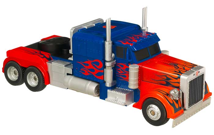Amazon.com: Transformers Stealth Force Truck - Optimus Prime: Toys