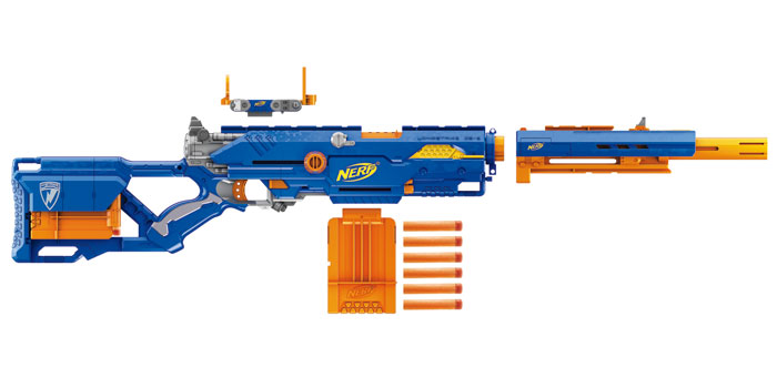 Amazon.com: Nerf N-Strike Longstrike CS-6 Dart Blaster: Toys & Games