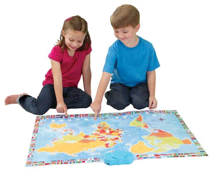 Amazon zanzoon map world interactive talking world map toys mapworld gumiabroncs Gallery