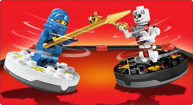 Amazon.com: LEGO Ninjago Spinjitzu Starter Set 2257 (Discontinued by