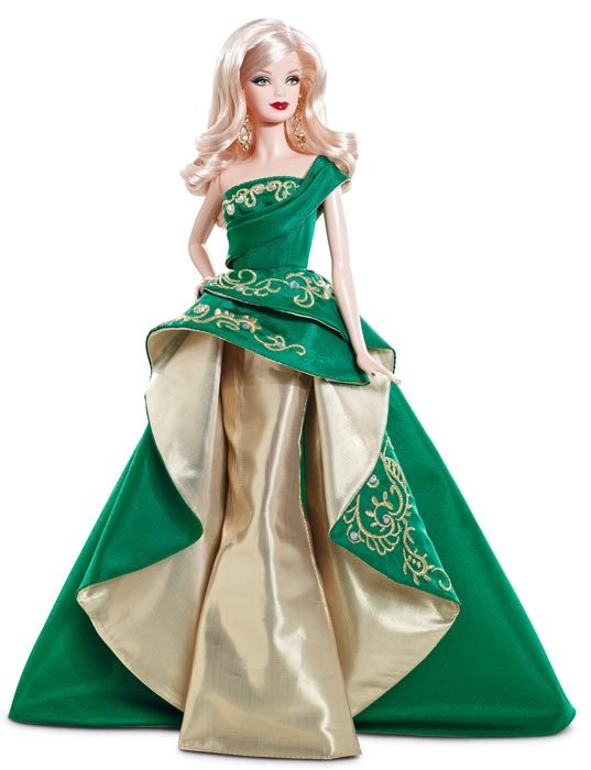 Amazon.com: Barbie Collector 2011 Holiday Doll: Toys & Games
