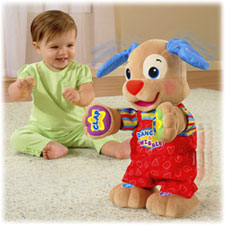 Fisher-Price's Laugh and Learn Dance and Play Puppy