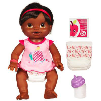Amazon Com Baby Alive Wets And Wiggles African American