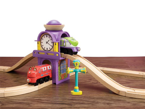 Amazon Com Chuggington Wooden Railway Koko Amp Hodge S