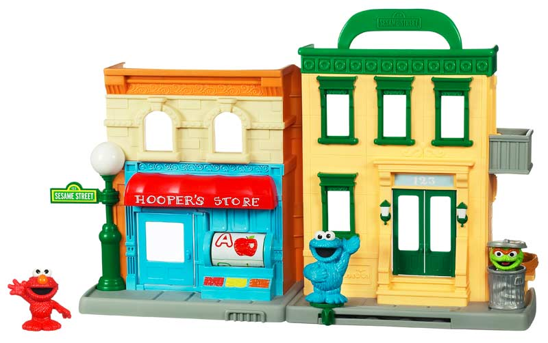 Amazon.com: Sesame Street Neighborhood Playset: Toys & Games