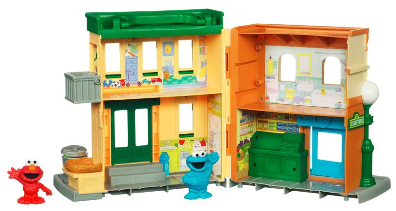 Sesame Street Toys : Amazon sesame street neighborhood playset toys games
