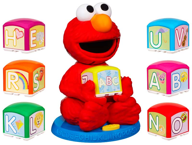 Amazon.com: Sesame Street Elmo's Find & Learn Alphabet ...