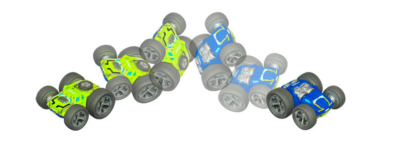 Toy Cars That Flip Over : Amazon chuck flip the bounceback racer toys games