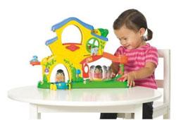 Playskool Weebles Turn 'N Tumble Home