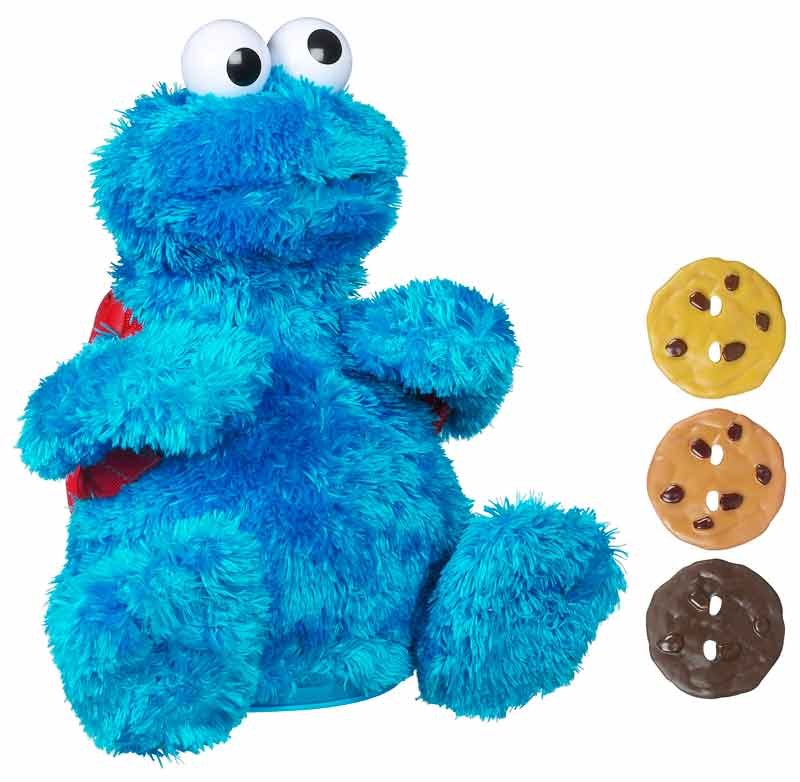 Sesame Street Toys : Amazon sesame street count and crunch cookie monster