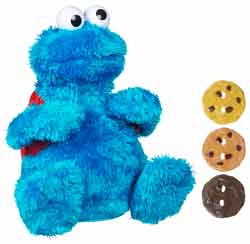 SESAME STREET COUNT 'N CRUNCH COOKIE MONSTER Product Shot