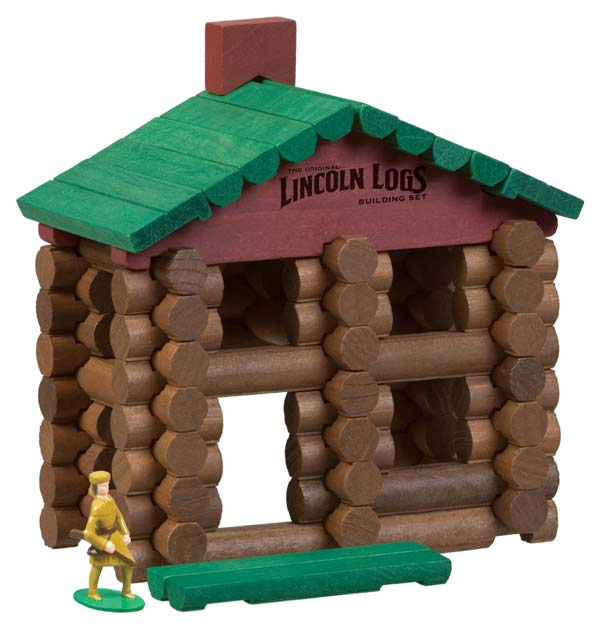 Amazon Com Lincoln Logs Classic Edition Tin Toys Amp Games