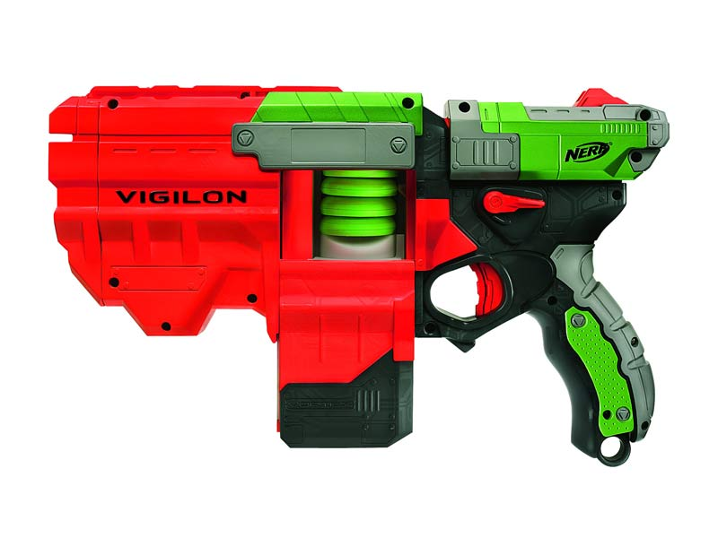 Amazon.com: Nerf Vortex Vigilon Blaster: Toys & Games