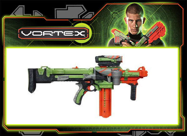 Nerf Vortex Nitron blasters hurl ultra-distance discs for the ultimate
