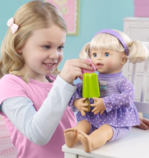 Amazon.com: Little Mommy My Very Real Baby Doll: Toys & Games
