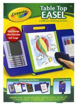 Amazon Com Crayola Tabletop Portfolio Style Easel Toys