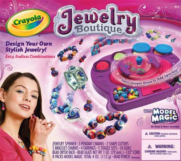 Crayola Model Magic Jewelry Studio Toys Games