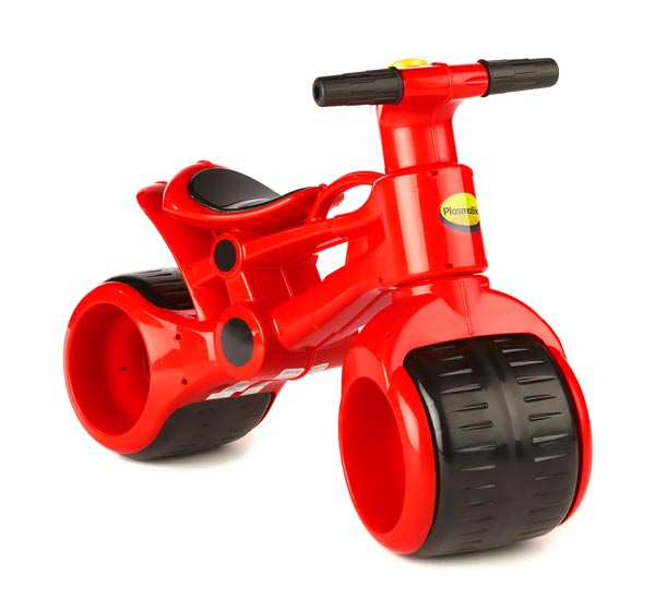 PlasmaBike self-balances, making it ideal for children first learning