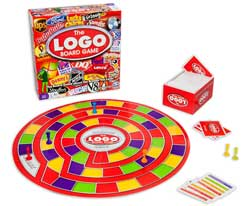 SpinMaster Logo Board Game