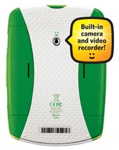 LeapFrog LeapPad Explorer - built-in camera and recorder