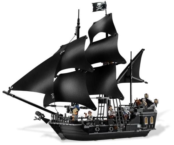 b0cbd854bba Toys  LEGO Pirates of the Caribbean Black Pearl 4184