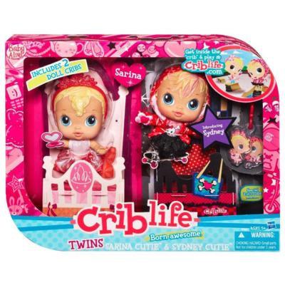 Amazon Com Baby Alive Crib Life Twins Toys Amp Games