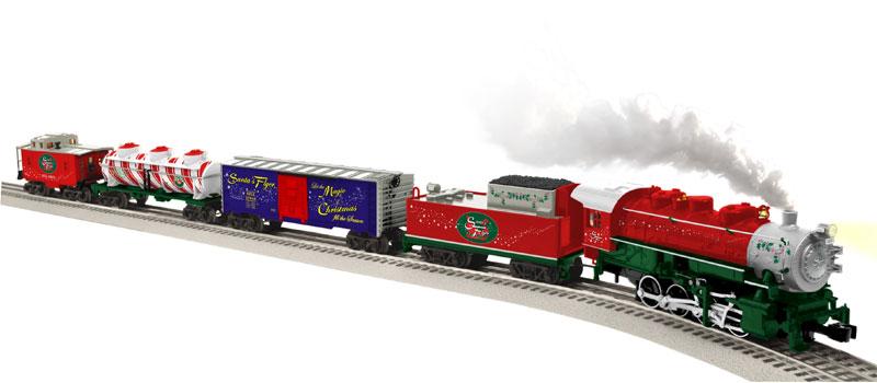 Amazon.com: Lionel Santa's Flyer Ready To Run Train Set - O-Gauge ...
