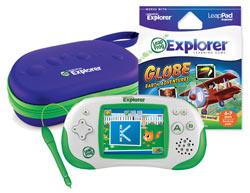 LeapFrog Leapster Explorer Grade School Globetrotter Pack