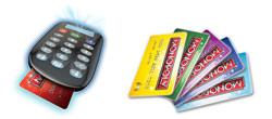 MONOPOLY Electronic Banking Product Shot