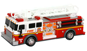 Road Rippers Rush & Rescue Hook and Ladder Fire Truck