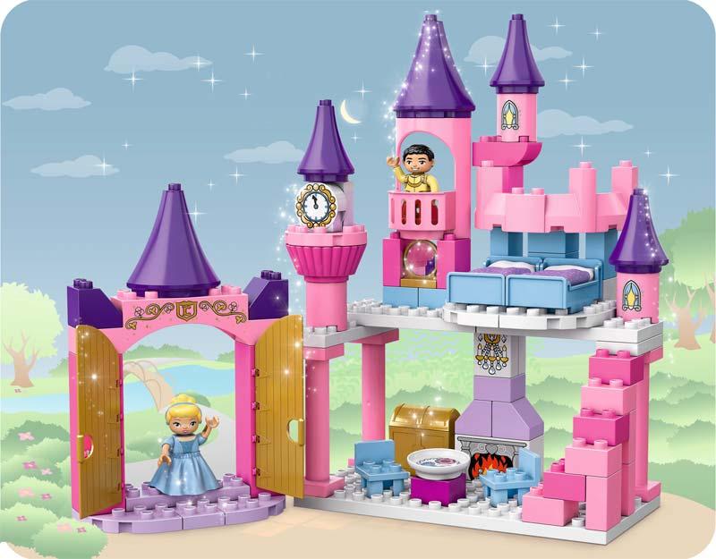Amazon.com: LEGO DUPLO 6154 Disney Princess Cinderellau0026#39;s Castle: Toys u0026 Games