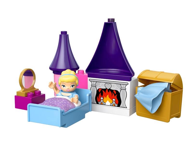 Amazoncom Lego Duplo 6154 Disney Princess Cinderellas Castle