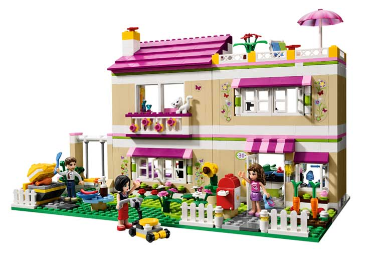 Amazon.com: LEGO Friends Olivia's House 3315 (Discontinued by