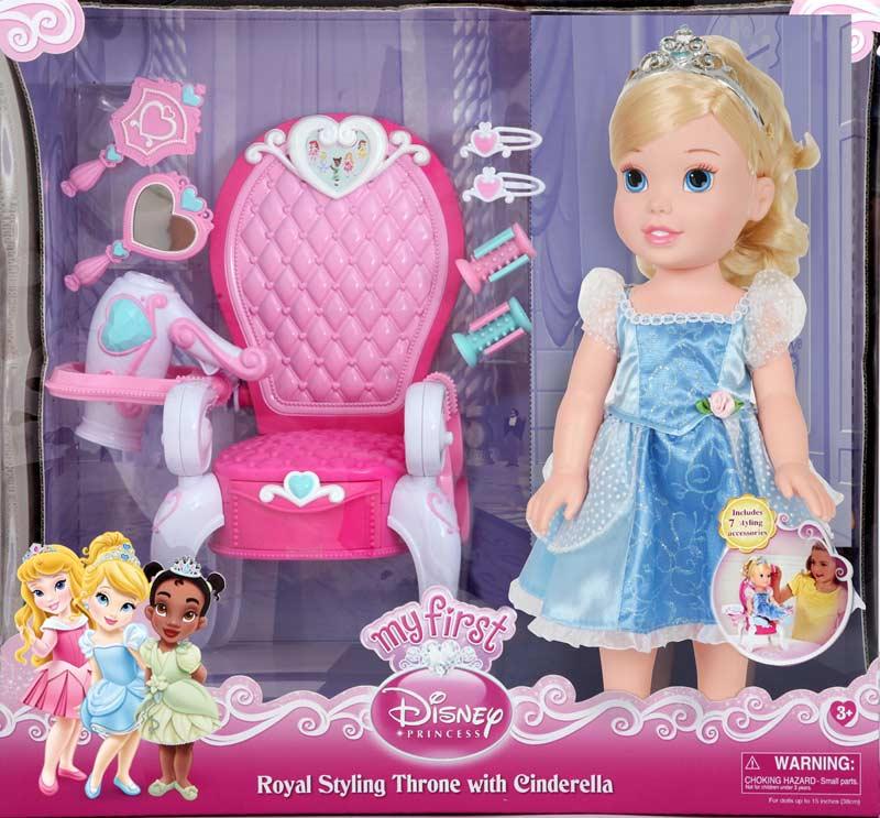 Disney Princess Royal Ball Cinderella Doll: Amazon.com: My First Disney Princess Cinderella With Royal