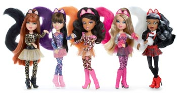 Amazon.com: Bratz Catz Doll - Yasmin: Toys & Games
